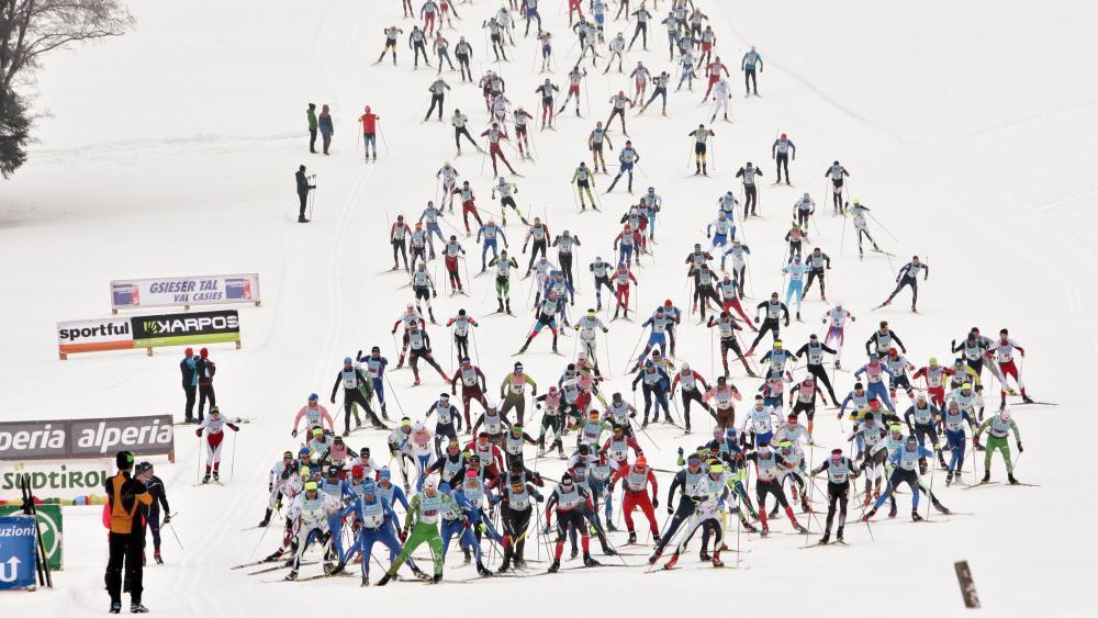 2.200 Teilnehmer nahmen den Gsiesertal Lauf in Angriff. © Newspower