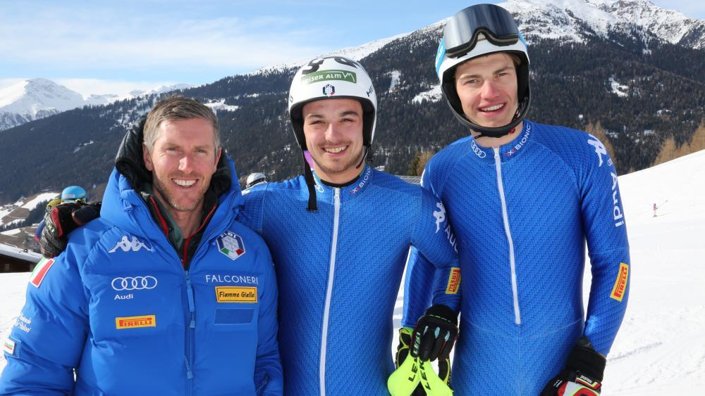 Werner Heel, Florian Schieder und Alex Prast.