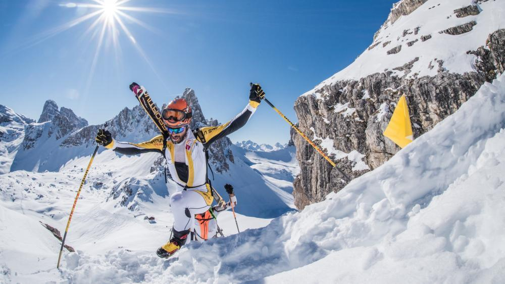 Ein Skitouren-Spektakel der besonderen Art.