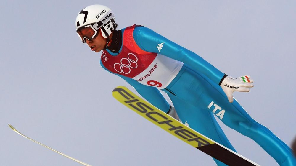 Olympia-Starter Aaron Kostner darf auch in Schonach ran. © LaPresse / Gian Mattia D'Alberto / LaPresse