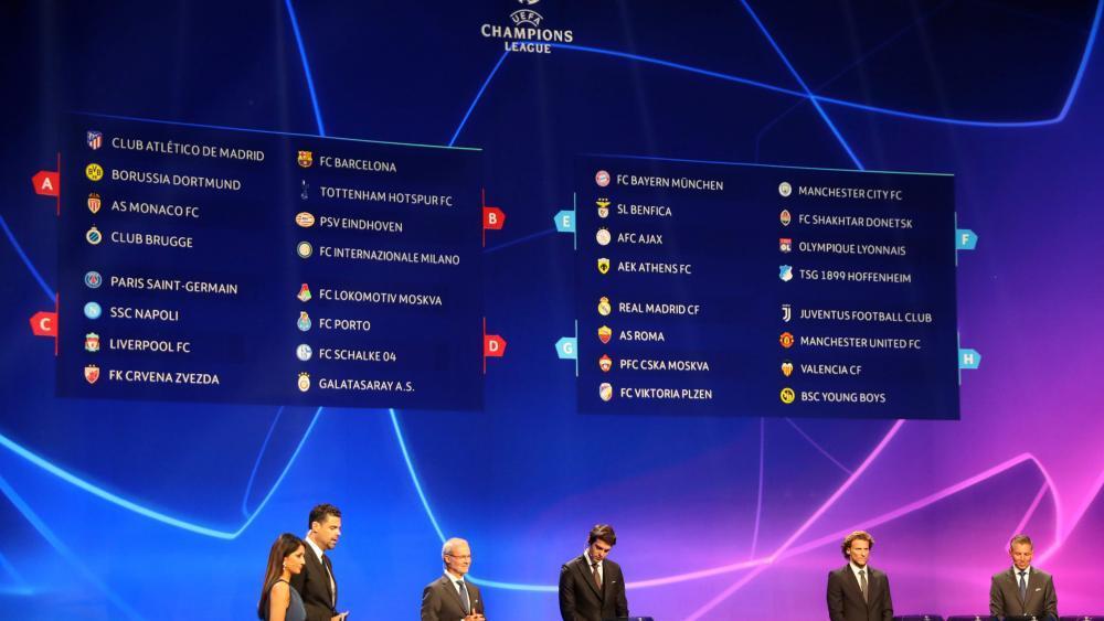 Champions League Auslosung Gruppenphase 19/20