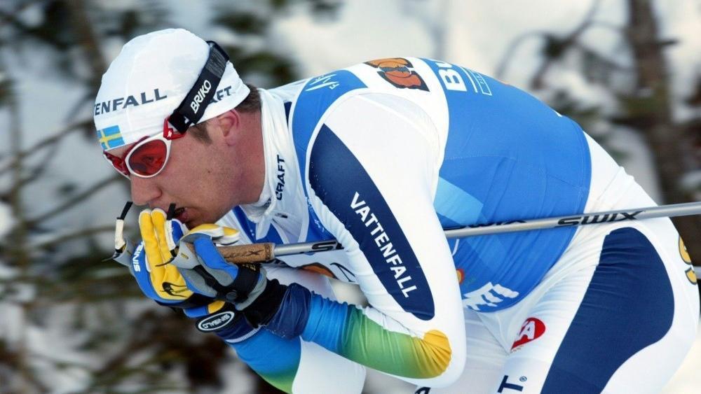 Per Elofsson hat einen Schlaganfall erlitten © SID / MATTI BJORKMAN