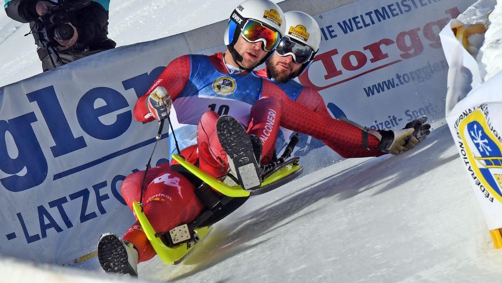 Das Südtirol-Duo Patrick Pigneter und Florian Clara. © Hermann Sobe