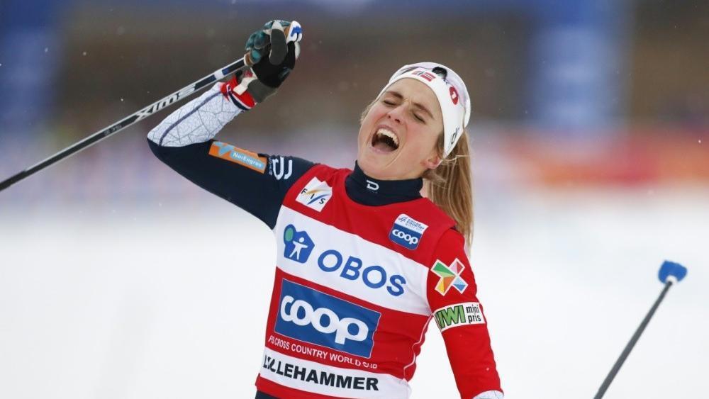 Ist seit ihrer Dopingsperre ungeschlagen: Therese Johaug © SID / TORE MEEK