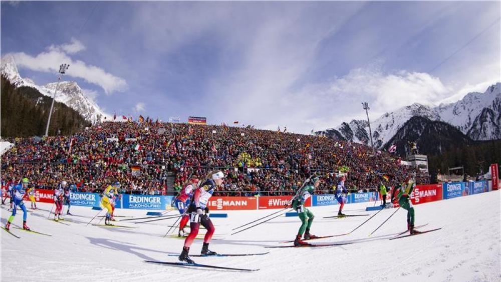 Die Südtirol-Arena in Antholz soll Schauplatz von Olympia 2026 sein.