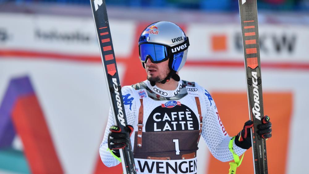 Südtirols Ski-Ass Dominik Paris. © AFP / FABRICE COFFRINI