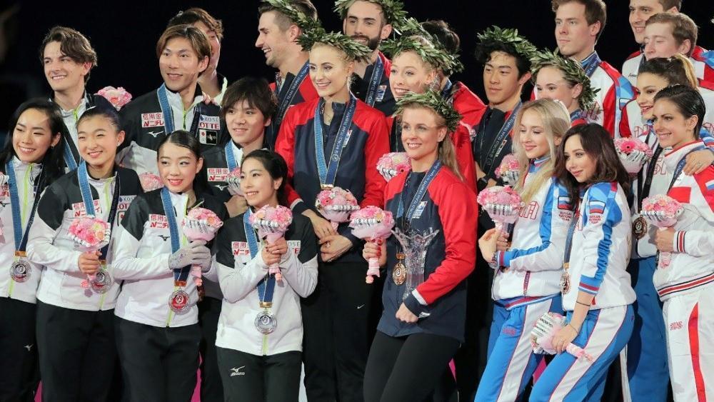 Team USA siegte vor Japan und Russland © SID / JIJI PRESS
