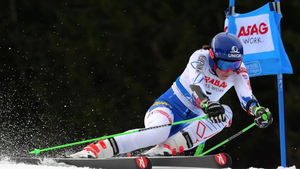 Petra Vlhova gehört zu den besten Technikerinnen des Damen-Weltcups © APA/afp / JOE KLAMAR