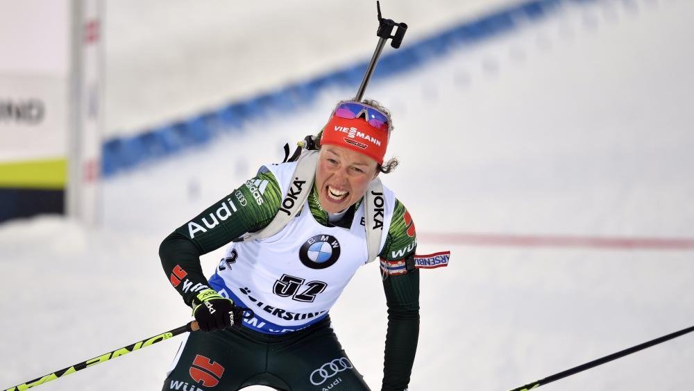 Überraschender Rücktritt von Laura Dahlmeier © AP / Anders Wiklund/TT