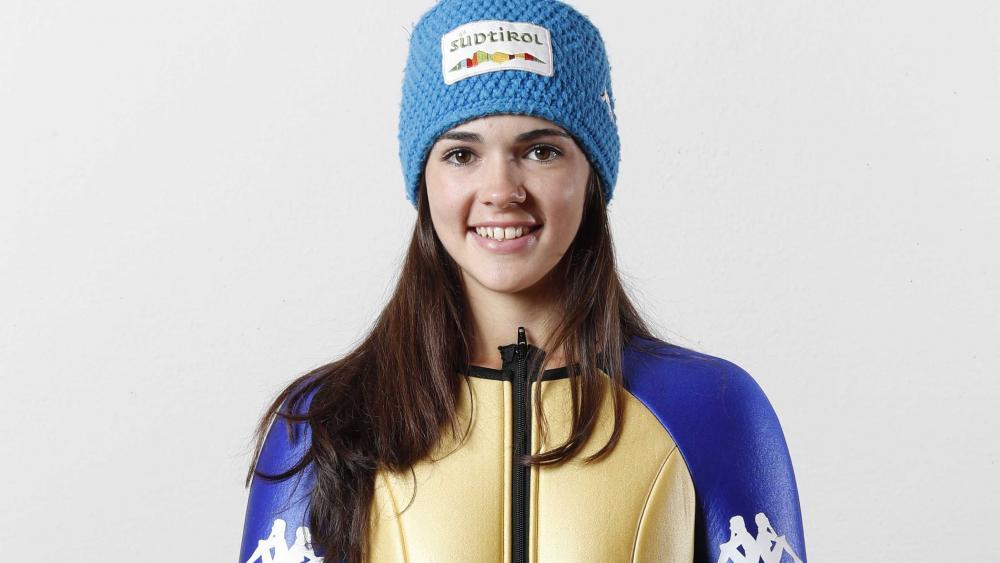 Die Grödner Skispringerin Lara Malsiner zeigte eine starke Leistung.