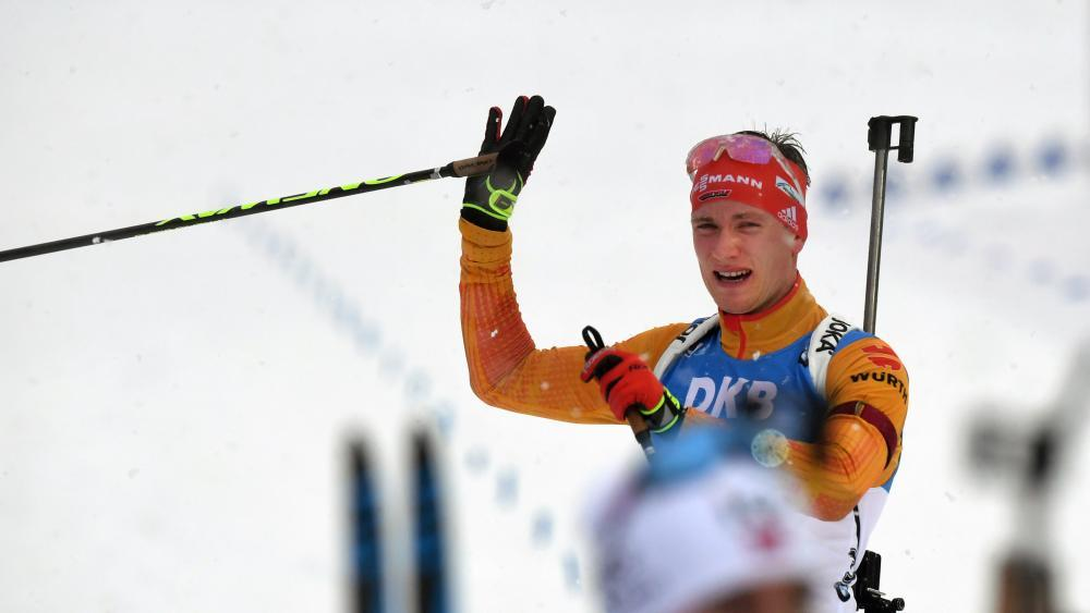 Benedikt Doll tut sich im Umgang mit Loginow schwer © AFP / CHRISTOF STACHE