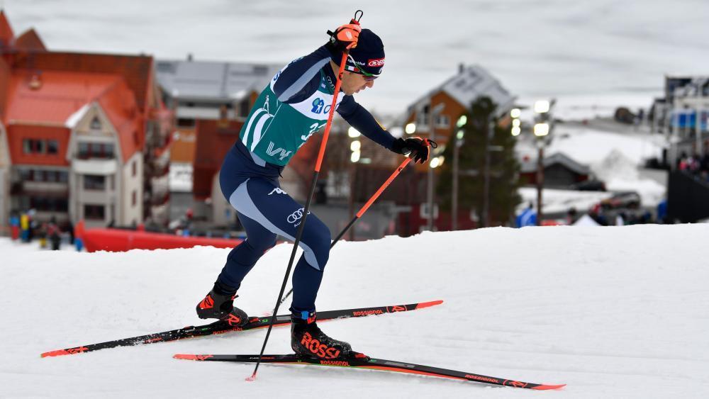 Federico Pellegrino sprintete am Dienstag aufs Podest. © APA/afp / ANDERS WIKLUND