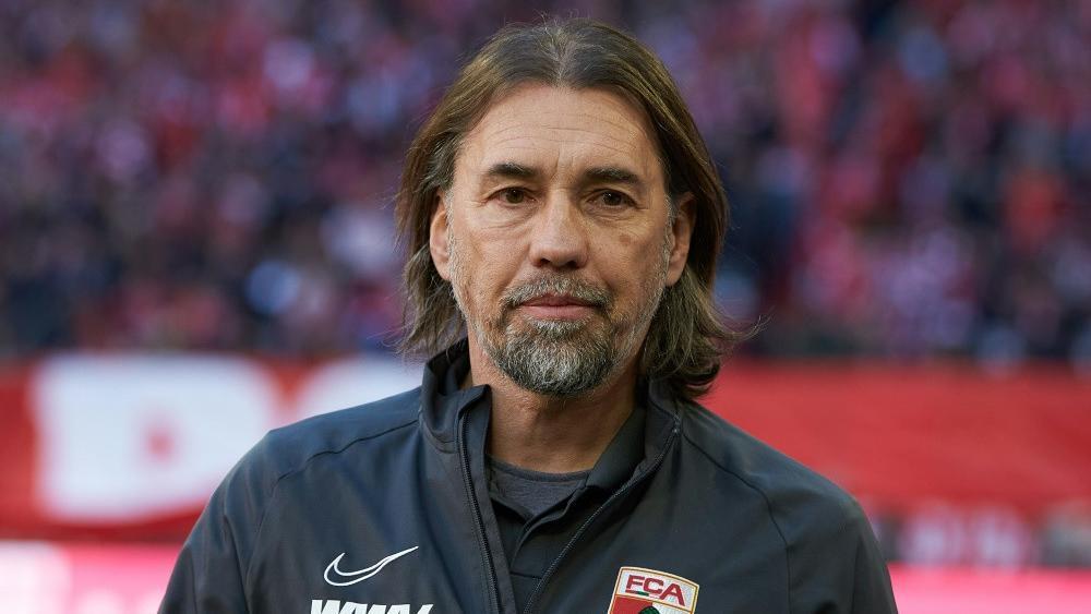 Trainer Martin Schmidt
