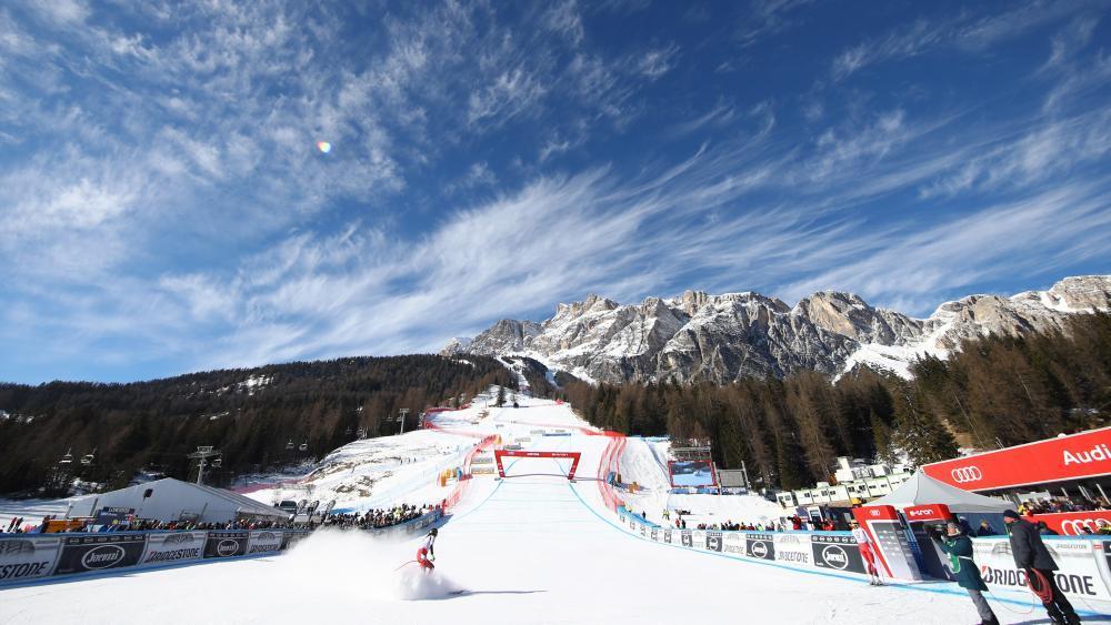 Cortina d'Ampezzo ist im Februar 2021 der Schauplatz der Ski-WM. © Pentaphoto