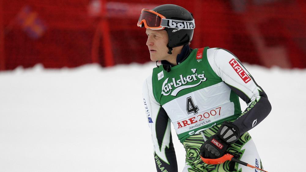 Finnlands ehemaliges Ski-Ass Kalle Palander. © AFP / FABRICE COFFRINI