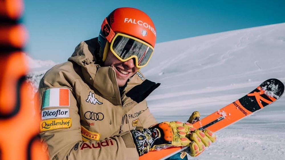 Der Gaiser Christof Innerhofer wird am Wochenende seine Slalomschwünge in einer holländischen Skihalle testen.