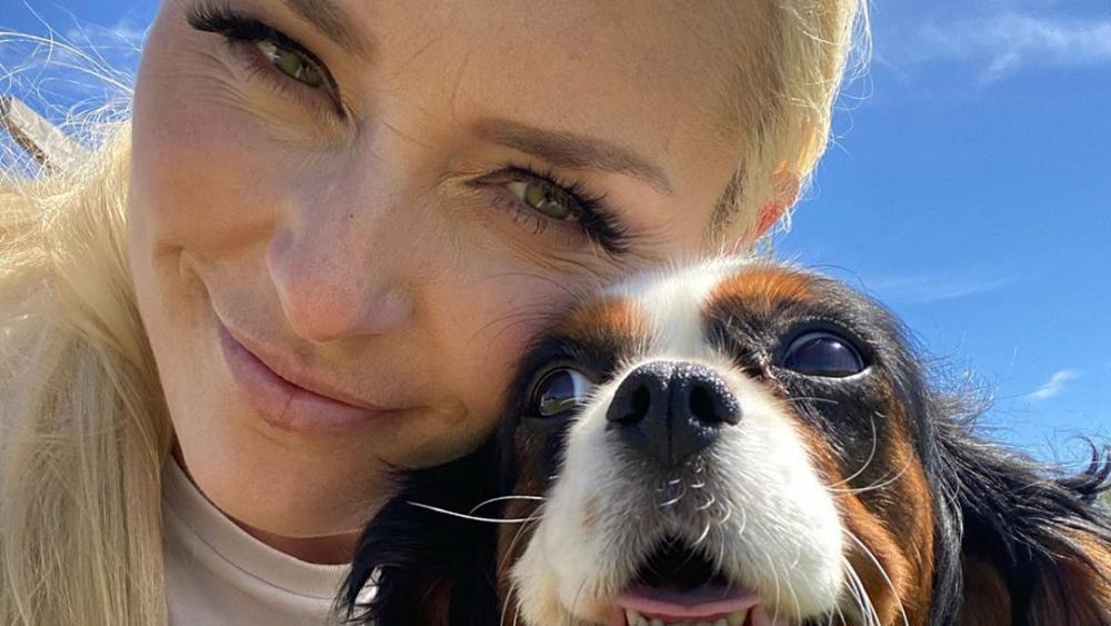 Lindsey Vonn und ihre Hündin Lucy. © Lindsey Vonn