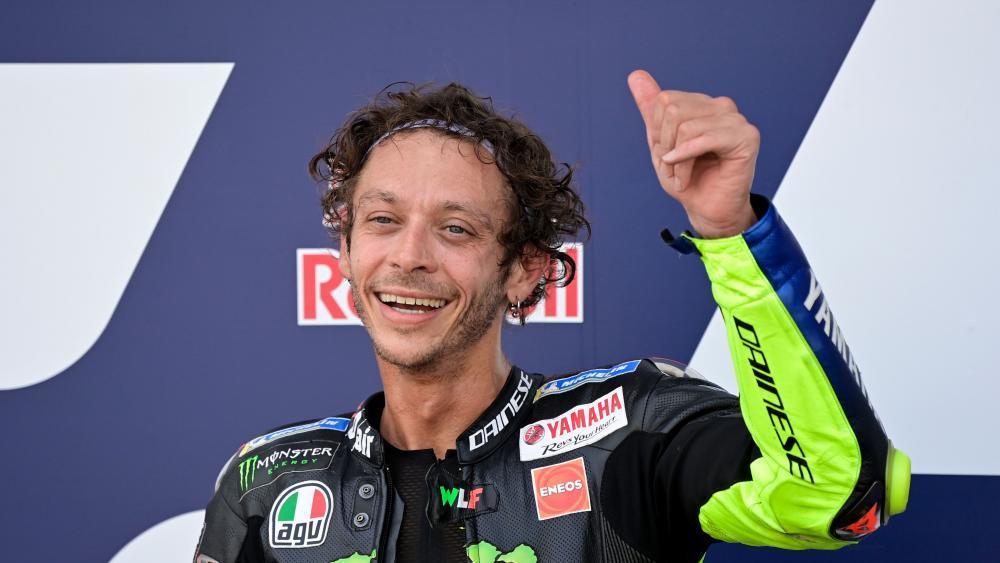Mit 41 In Der Motogp Valentino Rossi Spricht Uber Seinen Antrieb Moto Gp Sportnews Bz