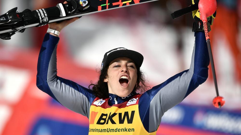Ist Italiens Wintersportlerin des Jahres: Federica Brignone. © AFP / FABRICE COFFRINI