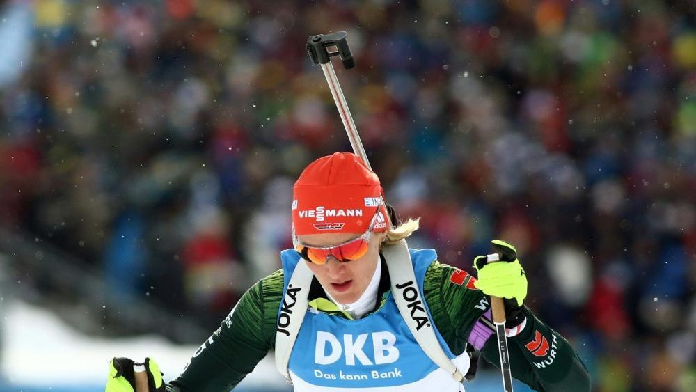 Denise Herrmann hat hohe Ziele © PIXATHLON/SID
