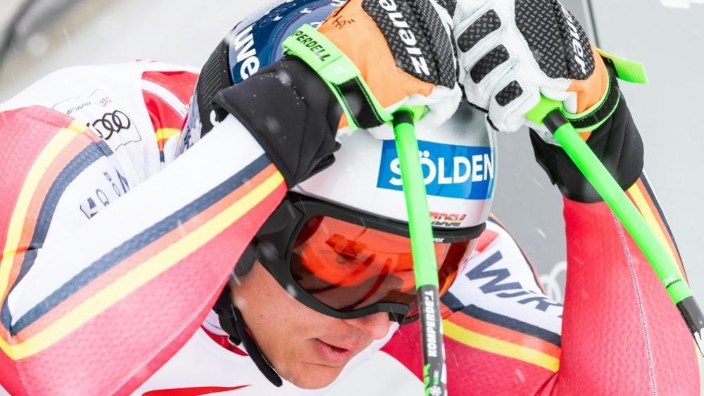 Thomas Dreßen droht eine erneute Verletzungspause © SID / JOHANN GRODER