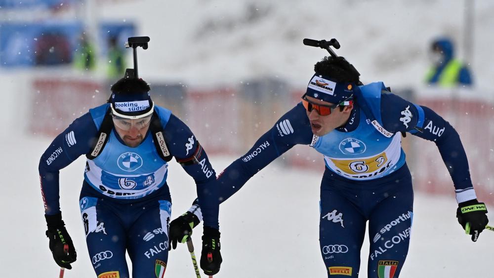 Biathlon Staffel Olympia 2021
