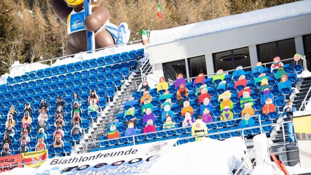 In Antholz ist der Biathlon-Weltcup eröffnet. © Manzoni/IBU