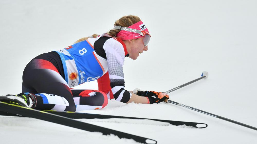 Teresa Stadlober, Österreichs zurzeit beste Langläuferin. © APA / BARBARA GINDL