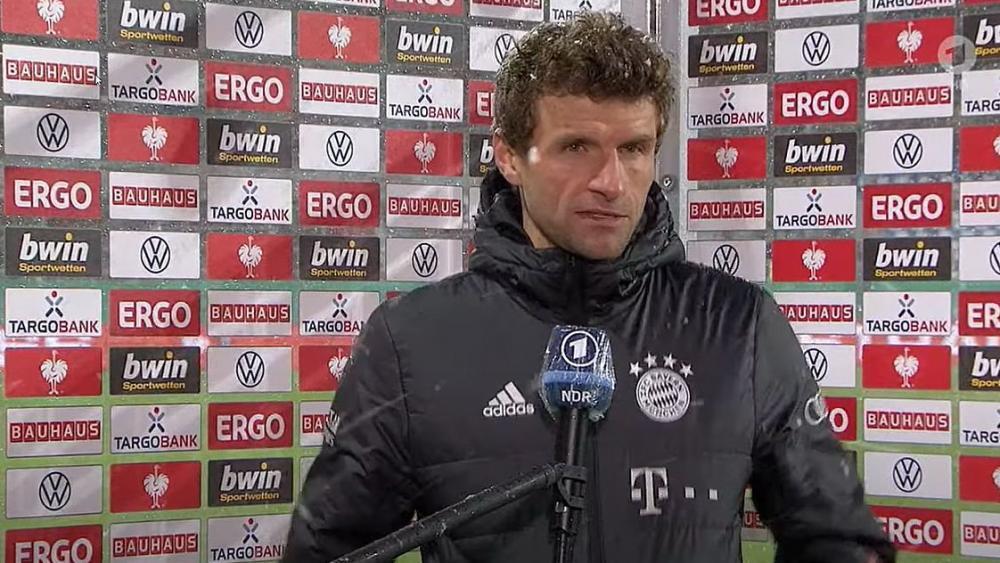 """<div>Müller nach Frust-Interview: """"Nichts für ungut"""