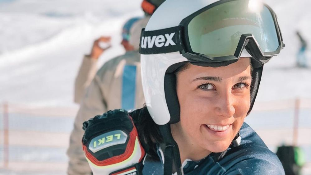 Teresa-Runggaldiers-erster-Weltcup-Auftritt