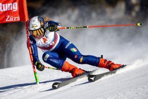 Nicol Delago will im kommenden Winter wieder auf der Piste Vollgas geben. © APA / EXPA/JOHANN GRODER